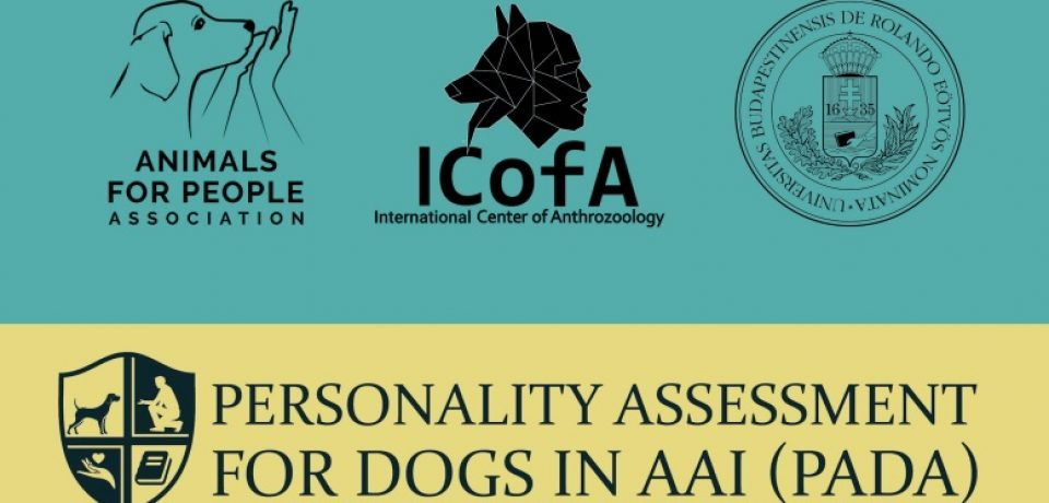 Personality assessment for dogs in AAI (PADA) – introduction of a new handbook